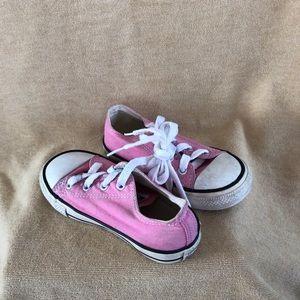 Converse pink sneakers